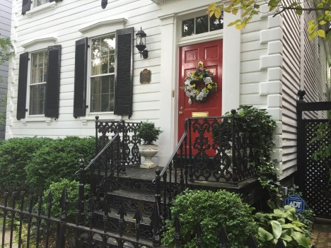 Art Weekend in D.C. Georgetown Home Walking Tour
