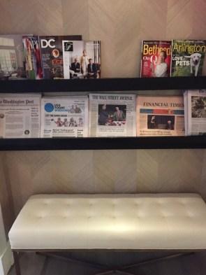 Gold Lounge Fairmont D.C