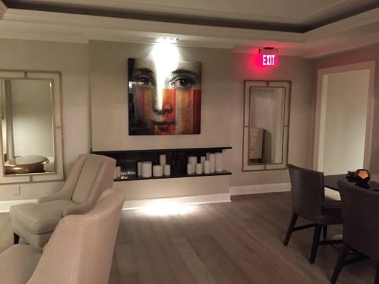 Fairmont D.C. Gold Level Lounge Review Art Design