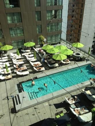 Four Seasons Seattle Pool Patio