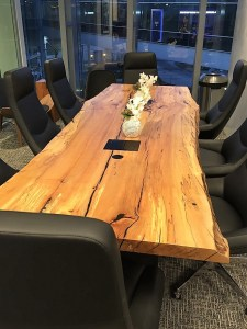 PHL Centurion Lounge boardroom table