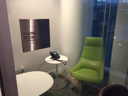 PHL Centurion Lounge Phone room