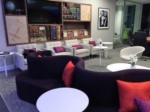 PHL Centurion Lounge seating view