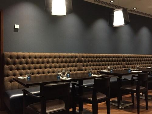 London Aloft Excel Restaurant Docksider