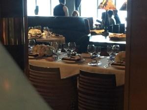 Oprah fundraising dinner Pinnacle Grill view