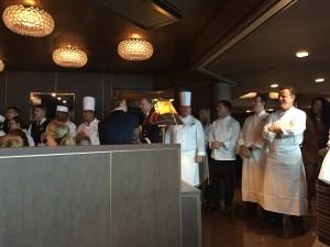 Pinnacle Grill chefs on Eurodam