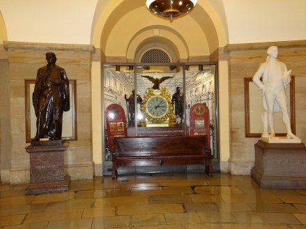 US Capitol Tour Crypt Room