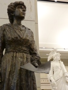 US Capitol Tour Statue Montana Jeannette Rankin