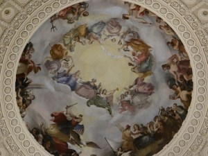 The Apotheosis of Washington Fresco US Capitol Rotunda Dome