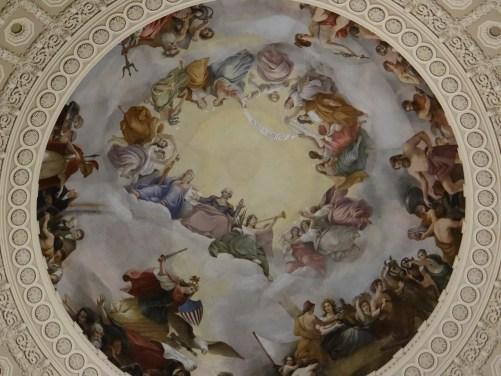 The Apotheosis of Washington Fresco US Capitol Rotunda Dome