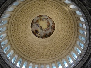 US Capitol Rotunda View