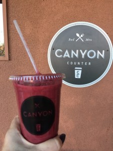 Canyon Counter Spa Smoothie Red Mountain Resort