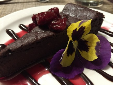 Red Mountain Resort Chocolate Cake Dessert