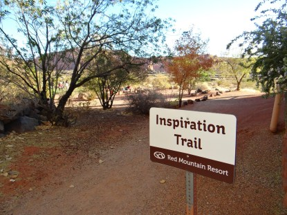 Inspiration Trail Solo Wellness Red Mountain Resort