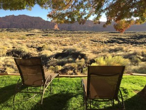 Red Mountain Resort View of Snow Canyon Park Utah Solo Wellness