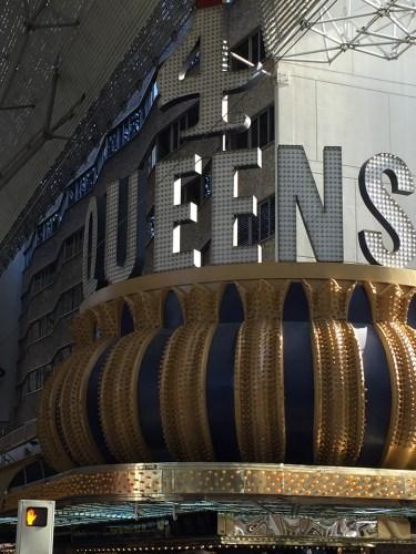 4 Queens Casino Neon Sign Las Vegas Freemont Street