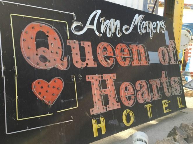 Neon Musuem Queen of Hearts Las Vegas