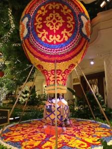 The Wynn Hotel Lobby floral decor