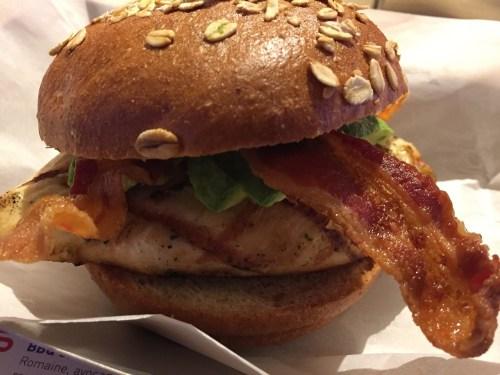 The Wynn Hotel Review Chicken Sandwich