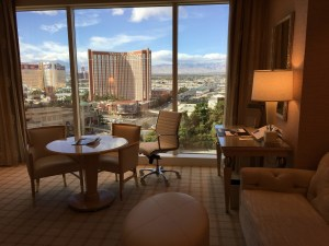 The Wynn Hotel Review room view