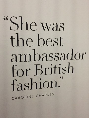 Princess Diana british fashion quote