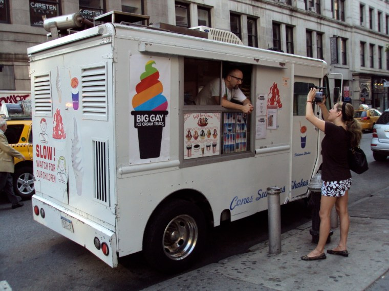 Doug Quint and his Big Gay Ice Cream Truck