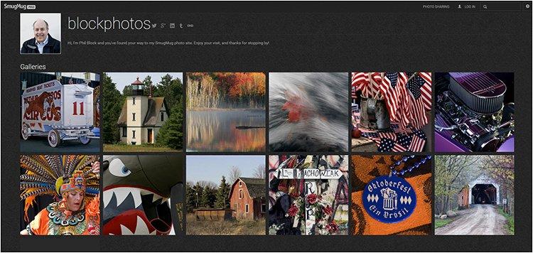 BlockPhotos SmugMug Photo Site