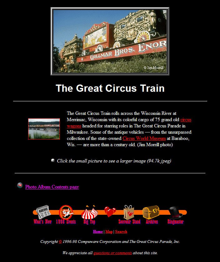 The Great Circus Train