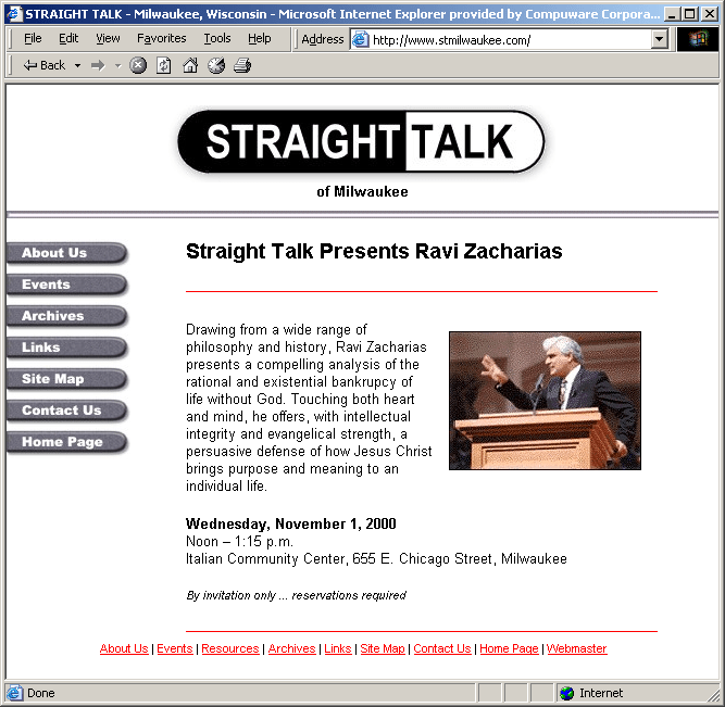 Straight Talk Archives
