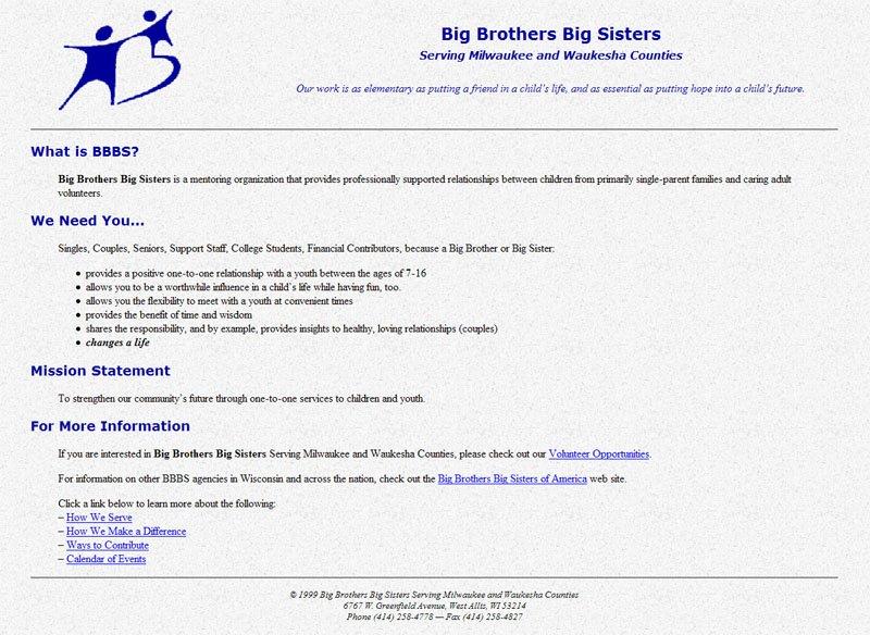 Big Brothers - Big Sisters