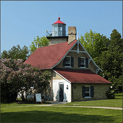 Eagle Bluff Lighthouse - Door County, Wisconsin