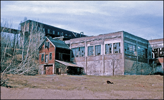 Historic Mining Buildings in the Keweenaw