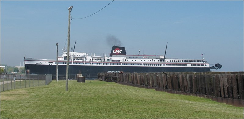 S.S. Badger in Manitowoc