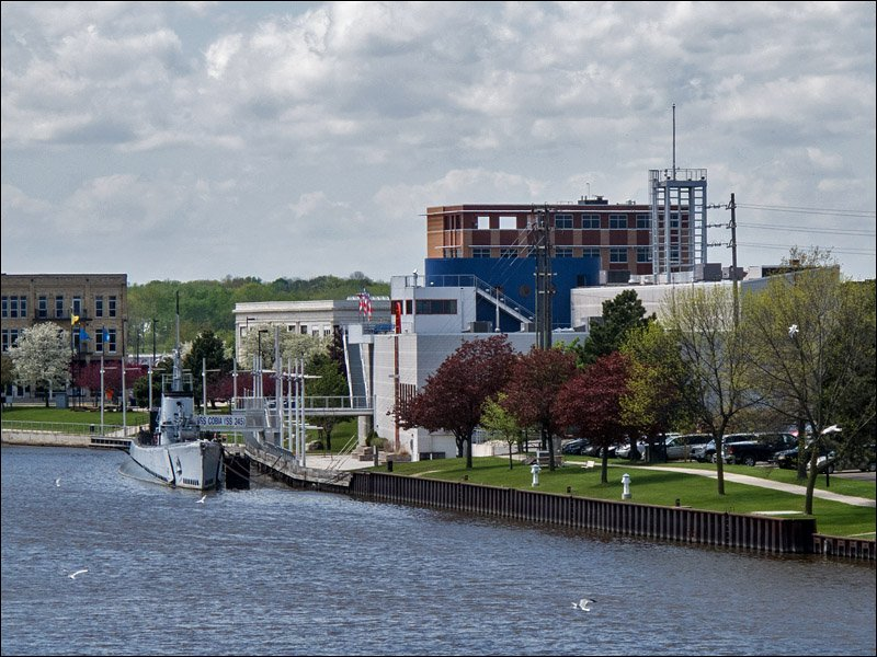 Wisconsin Maritime Museum with S.S. Cobia, a WWII Submarine