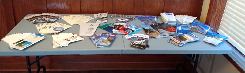 Lighthouse Literature Table