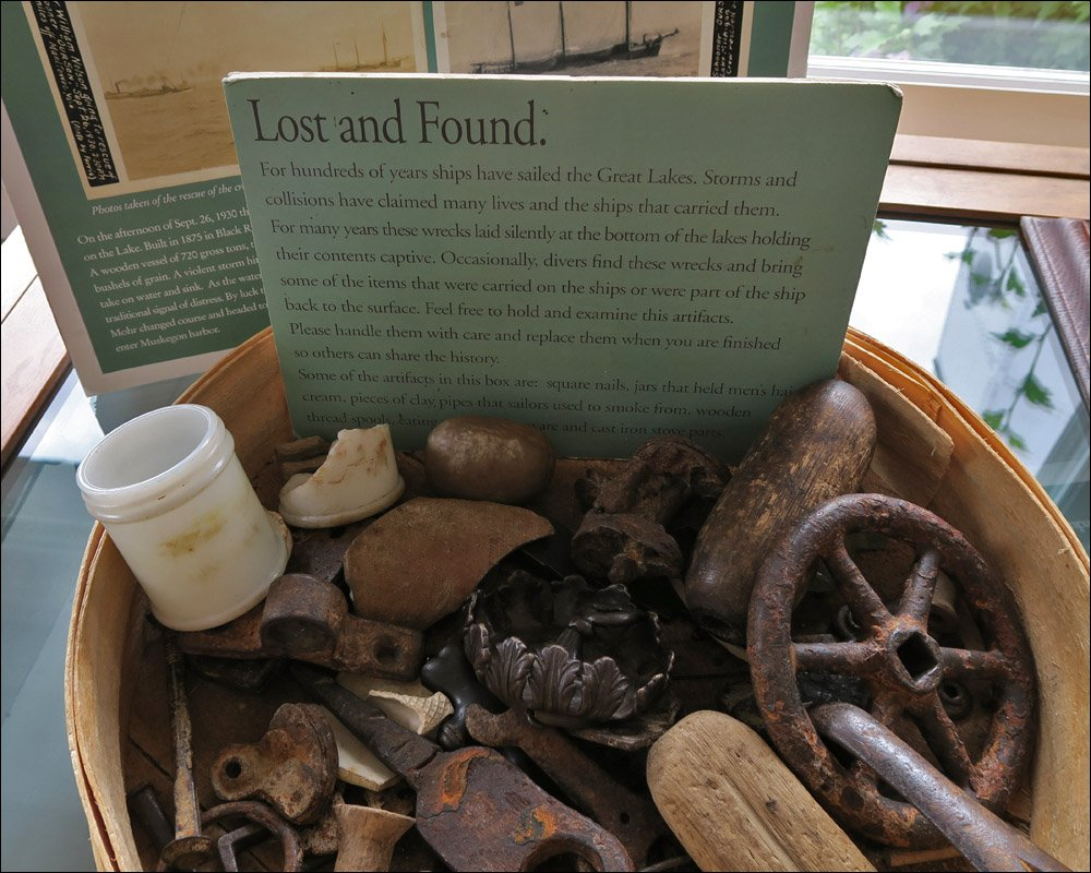 North Point Light Station – Museum Exhibit