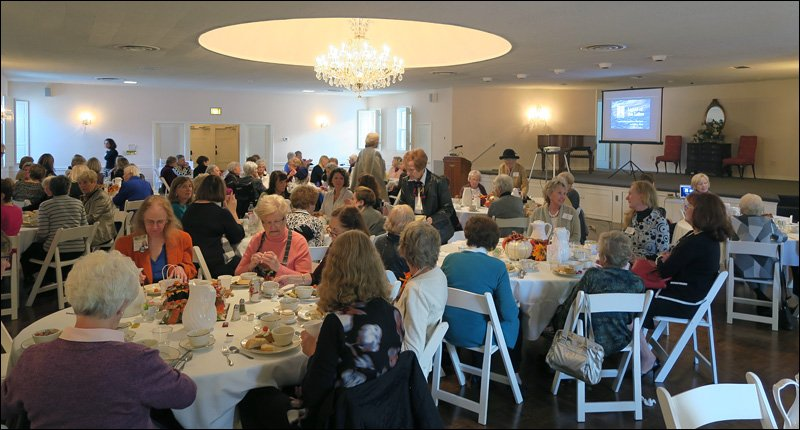 Elm Grove Woman's Club Audience