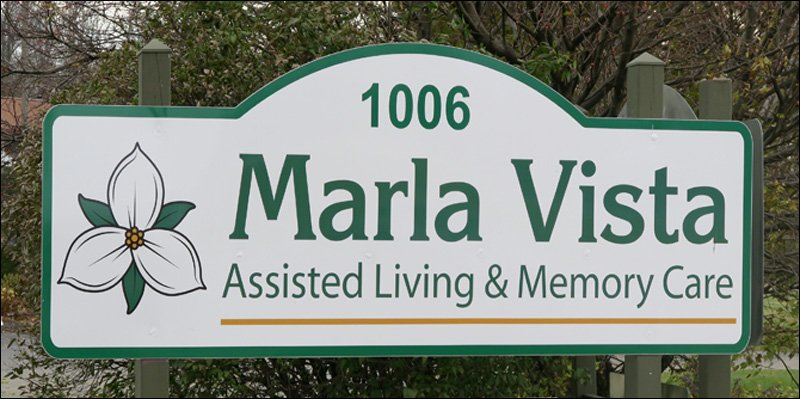 Marla Vista Sign