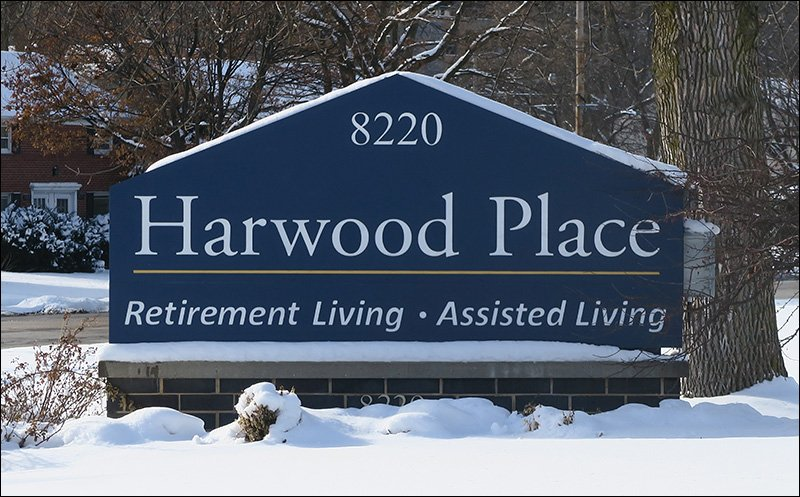 Harwood Place Sign