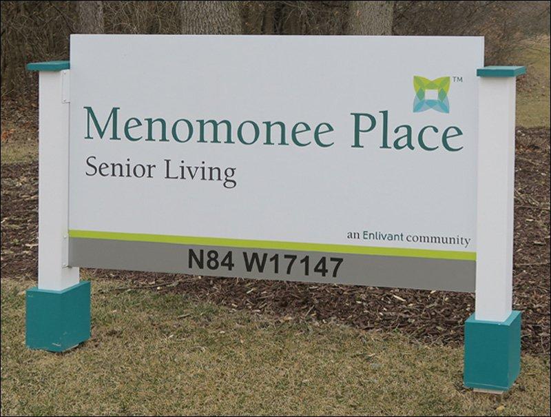 Menomonee Place Sign