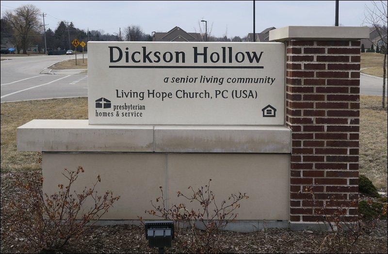 Dickson Hollow Sign