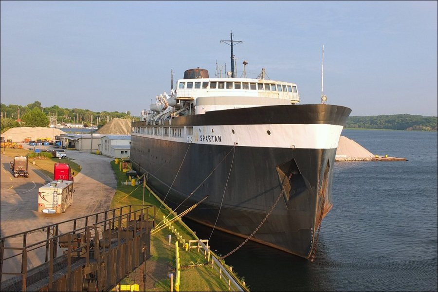 S.S. Spartan Carferry - Long Since Retired