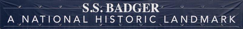 S.S. Badger Banner