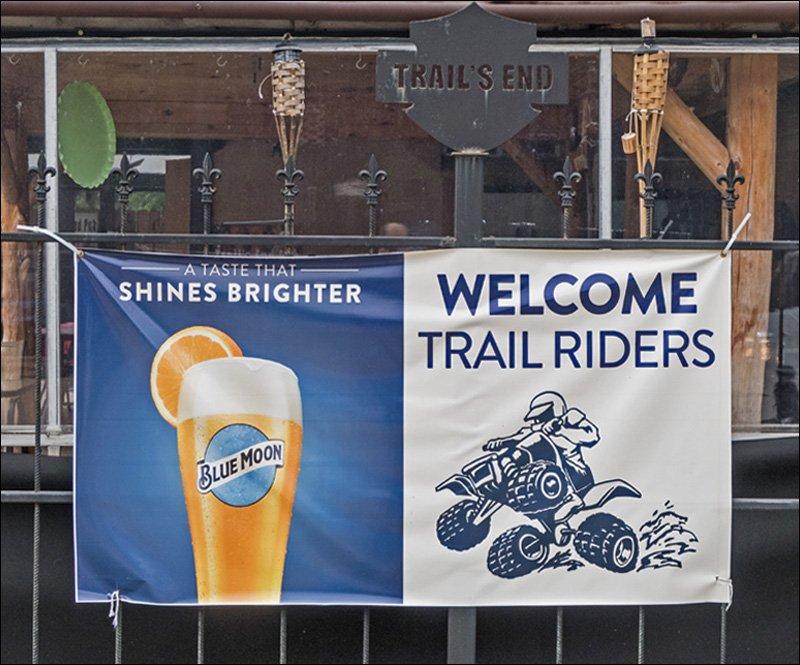 Trail's End Outdoor Tiki Bar
