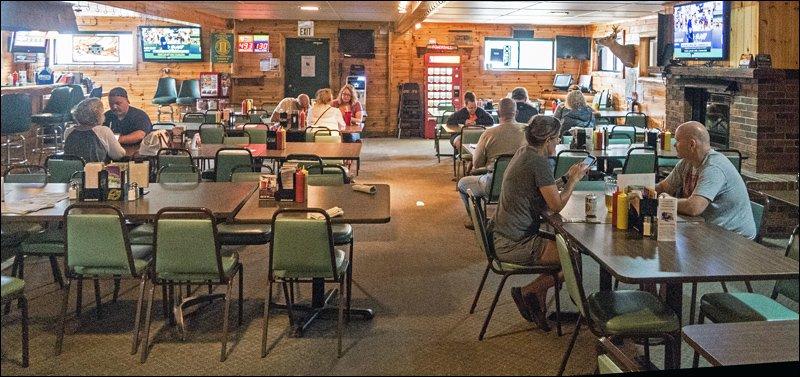 Trail's End Pub Interior