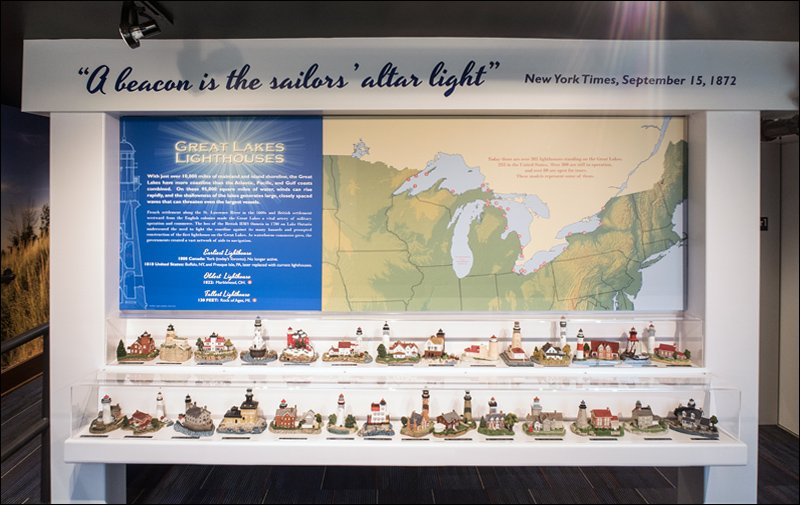 Great Lakes Lighthouse Exhibit
