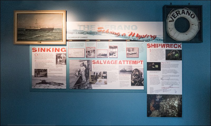 The Verano Shipwreck Exhibit