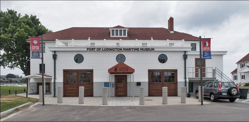 Port of Ludington Maritime Museum - Front