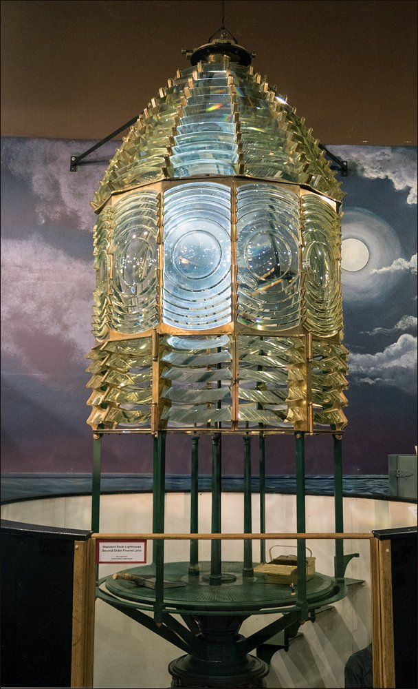 Stannard Rock Second Order Fresnel Lens