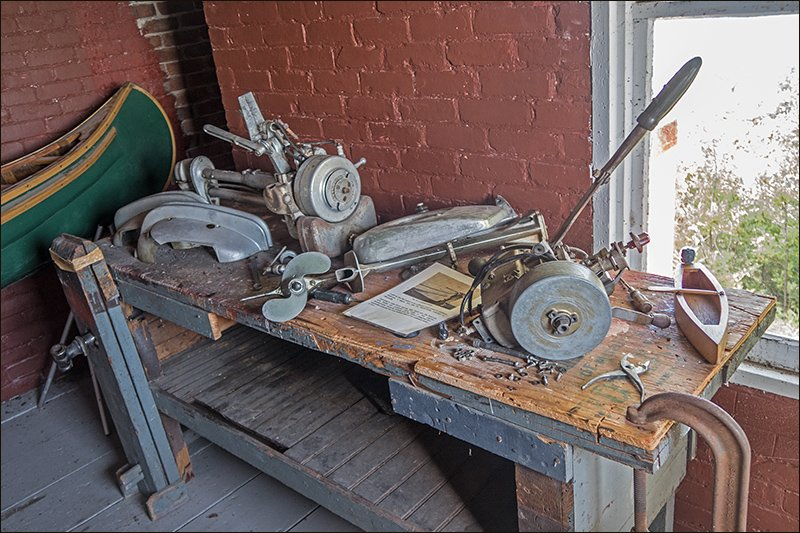 Workbench in Evinrude Room